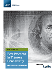 Best Practices in Treasury Connectivity